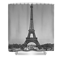 The Eiffel Tower Shower Curtain by Gustave Eiffel