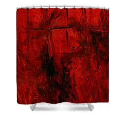 The Elements Fire #3 Shower Curtain