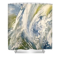 The Elements Water #1 Shower Curtain