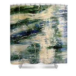 The Elements Water #5 Shower Curtain