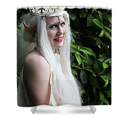 The Elven Queen Shower Curtain
