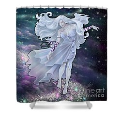 Shower Curtain featuring the digital art The Emancipation Of Galatea by Amyla Silverflame