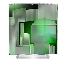 The Emerald City Shower Curtain