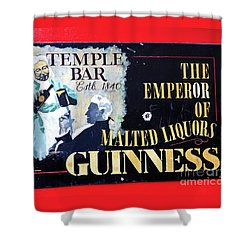 The Emperor Of Malted Liquors Shower Curtain