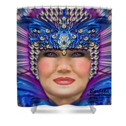 Shower Curtain featuring the photograph The Empress by Barbara Tristan