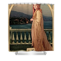 The Empress Shower Curtain by John Edwards