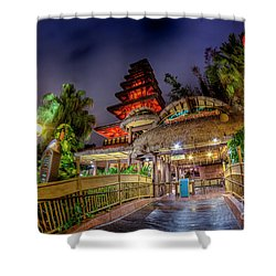The Enchanted Tiki Room Shower Curtain