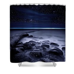 The End Of Darkness Shower Curtain