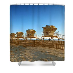 The End Of Summer Shower Curtain by Everette McMahan jr