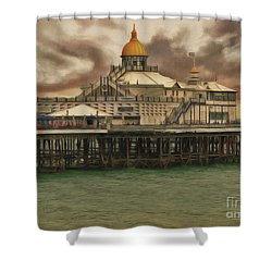 The End Of The Pier Show Shower Curtain