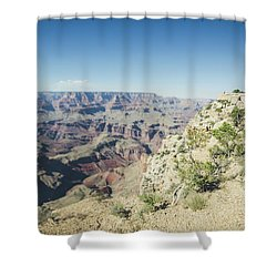 The Enormity Of It All Shower Curtain
