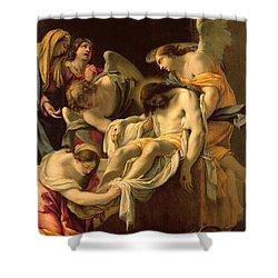 The Entombment Shower Curtain by Simon Vouet