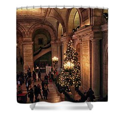 Shower Curtain featuring the photograph A Golden Entrance by Jessica Jenney