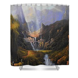 The Epic Journey Shower Curtain