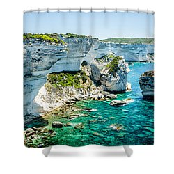 The Erosion Shower Curtain