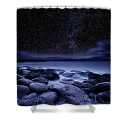 Shower Curtain featuring the photograph The Essence Of Everything by Jorge Maia