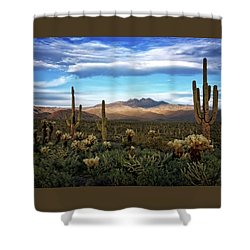 Shower Curtain featuring the photograph The Evening Glow  by Saija Lehtonen