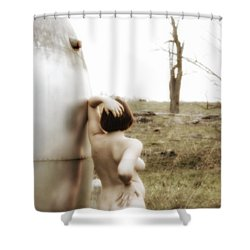 The Evening Of Beauty  Shower Curtain