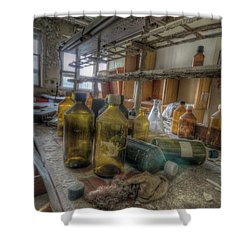 Shower Curtain featuring the digital art The Experiment  by Nathan Wright