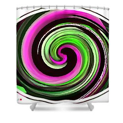 The Eye Shower Curtain by Catherine Lott
