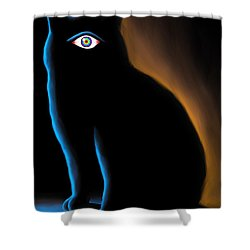 The Eye Have It Shower Curtain