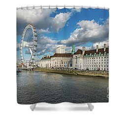 The Eye London Shower Curtain