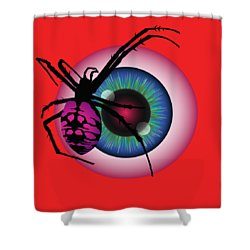The Eye Of Fear Shower Curtain