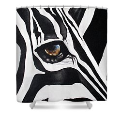 The Eye Of The Storm Shower Curtain