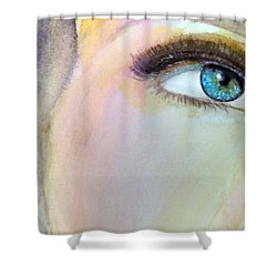 The Eyes Have It Shower Curtain by Ed  Heaton