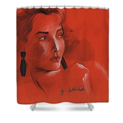 The Face Series - Kelly Shower Curtain
