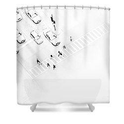 The Faceless Shower Curtain