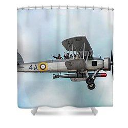 The Fairey Swordfish Shower Curtain