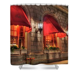 Shower Curtain featuring the photograph The Fairmont Copley Plaza Hotel - Boston by Joann Vitali
