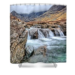 The Fairy Falls Shower Curtain