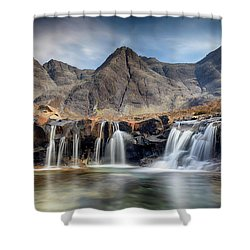 The Fairy Pools - Isle Of Skye 3 Shower Curtain