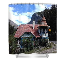 The Fairy Tale House  Shower Curtain