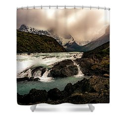The Falls Shower Curtain by Andrew Matwijec