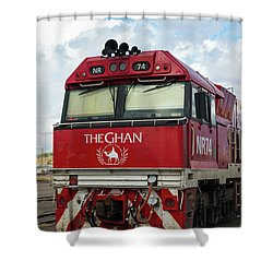 The Famed Ghan Train  Shower Curtain