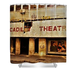 The Famous Beirut Picadilly Theater  Shower Curtain by Funkpix Photo Hunter