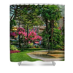Shower Curtain featuring the photograph The Fancy Swiss South-west by Hanny Heim