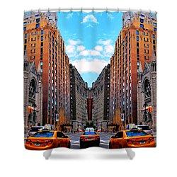 Shower Curtain featuring the photograph The Fantacity by Matt Harang