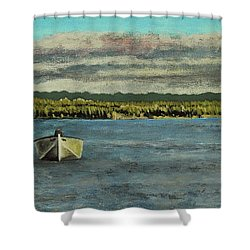 The Far Shore Shower Curtain