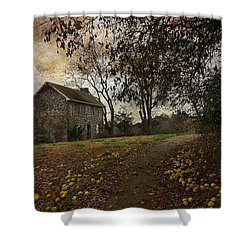 The Farm House  Shower Curtain