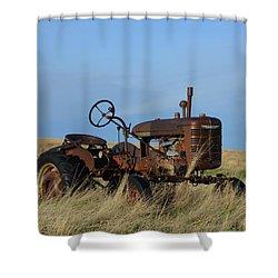 The Farmall Tractor Shower Curtain