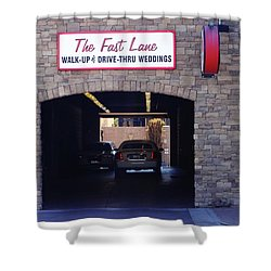 The Fast Lane 2 Shower Curtain by Bruce Iorio