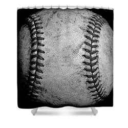 Shower Curtain featuring the photograph The Fastball by David Patterson