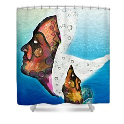 The Fates Chaos Into Hope Shower Curtain
