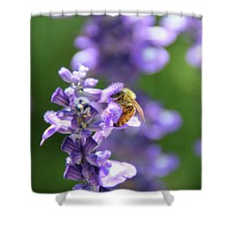 The Fauna And Flora Rendez-vous Shower Curtain by Yoel Koskas