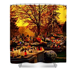 The Feast Of The Dead Shower Curtain