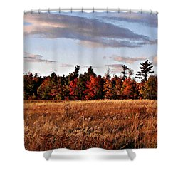 The Field At The Old Farm Shower Curtain